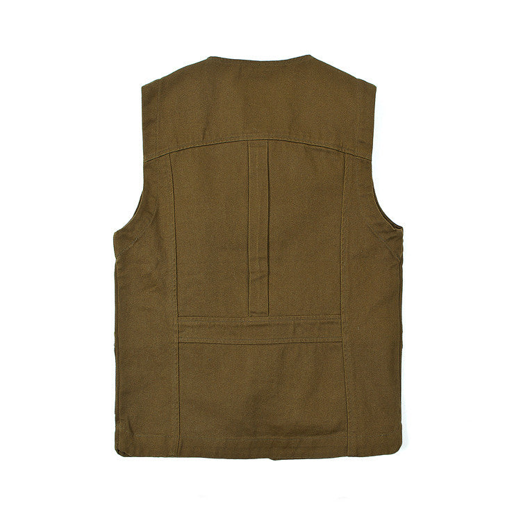 Made By Scrub - Vest Jacket - Hunting Waistcoat (Vintage Green)