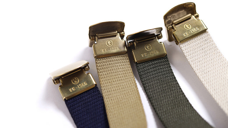 Vintage and Republic Military belt 1966.