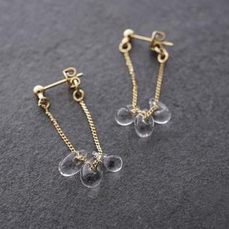 HARIO Handmade Jewelry- little Water Drop Earrings (HAW-LT-002)