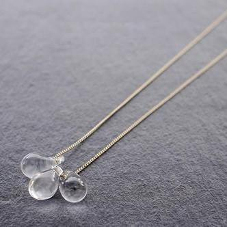 HARIO Handmade Jewelry- Water Drop Necklace (HAW-T-001)
