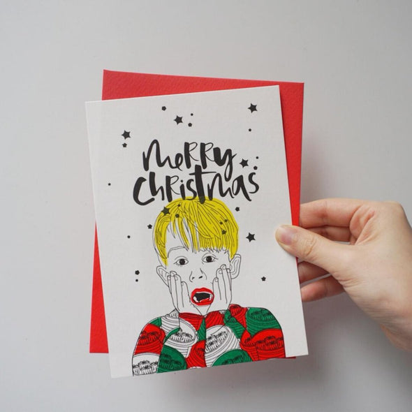 GLUE Christmas Card - Home Alone
