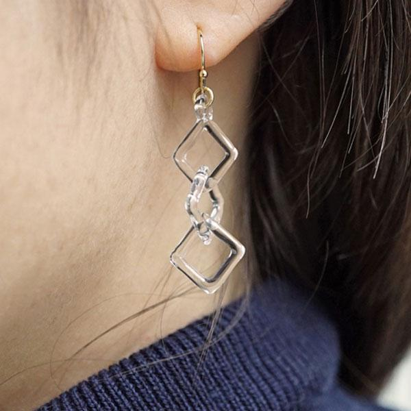 HARIO Handmade Jewelry - Abstract Earring (HAA-SCH-002P)