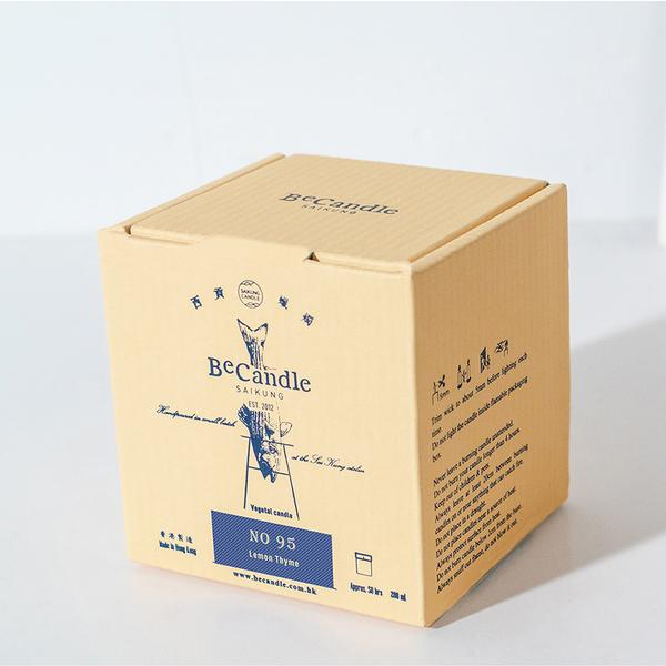 BeCandle Saikung Candle 200ml - Lemon Thyme (No.95)