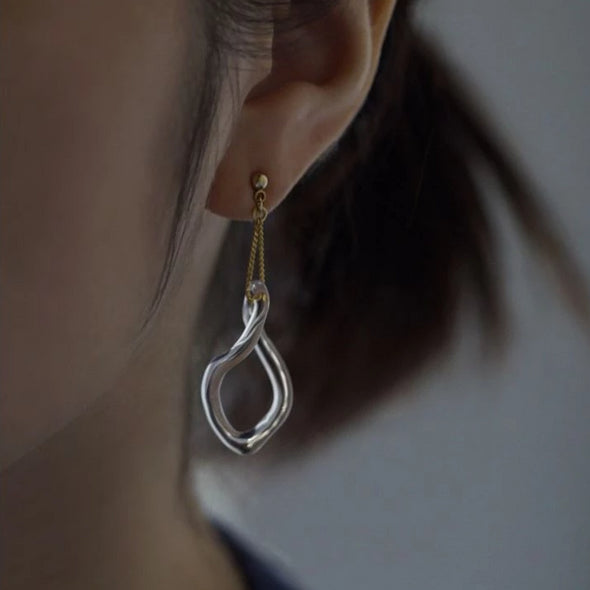HARIO Soft Abstract Earring