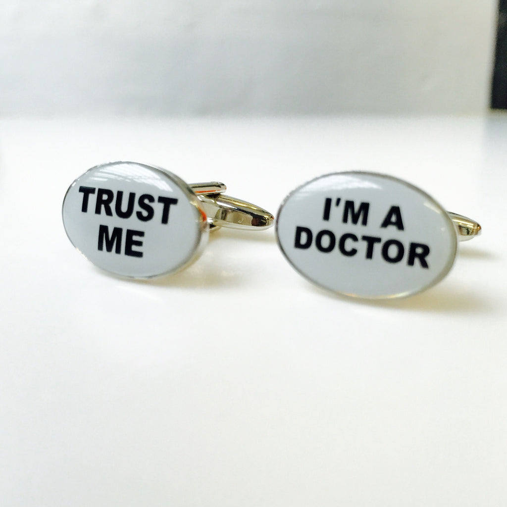 Trust me, I am a doctor ! Cufflinks