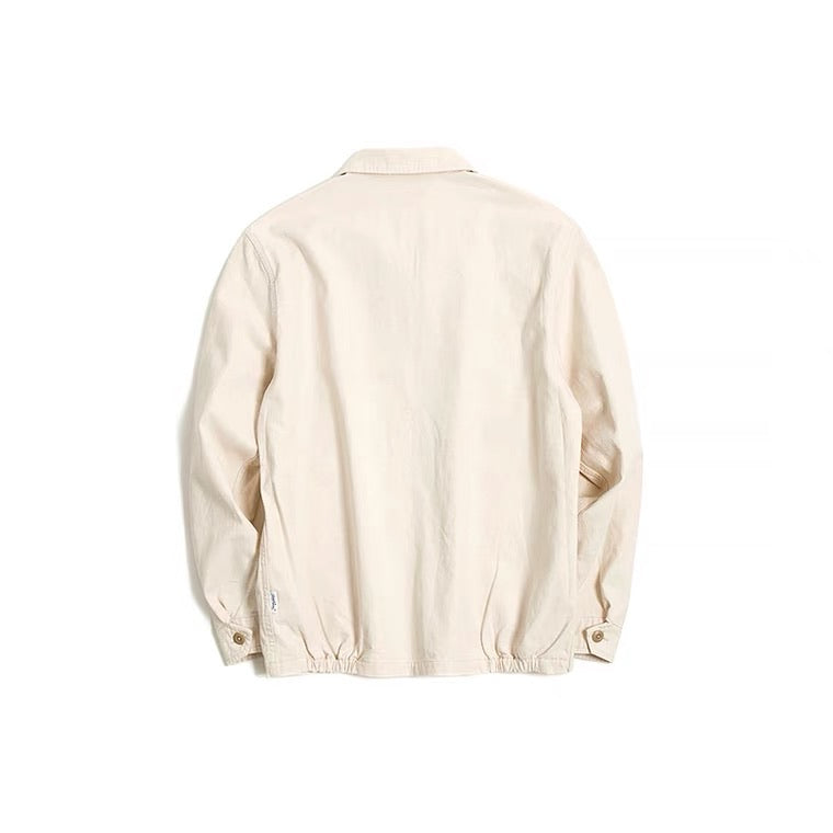 Vintage and republic 1950s Works Jacket - White