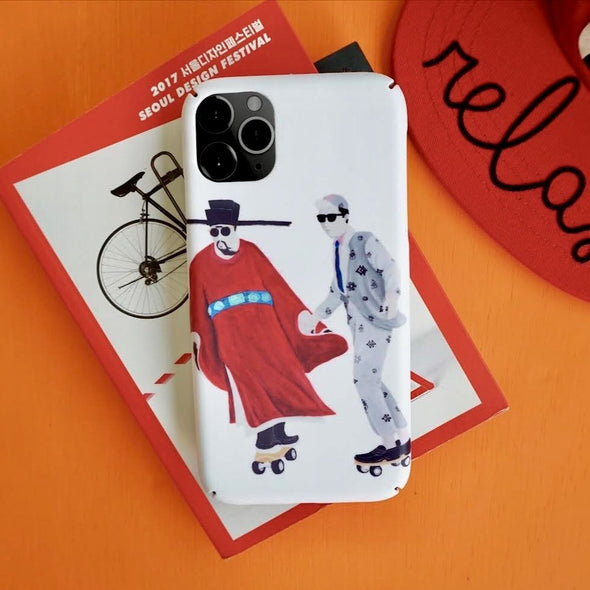 GLUE x Zishi Time travelling Phone Case - Red