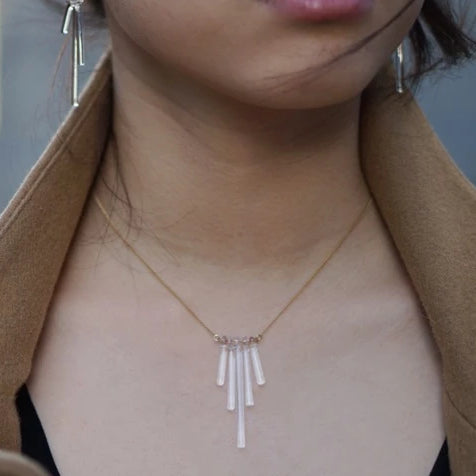 HARIO Handmade Jewelry - Abstract Necklace (HAA-K-001)