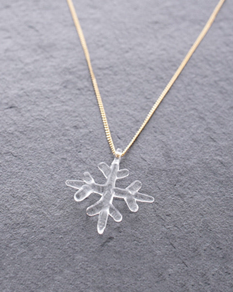 HARIO Handmade Jewelry - Snow Necklace (HAA-SC-001)