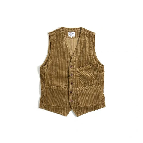Vintage and republic French Corduroy waistcoat