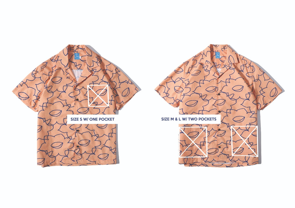 GLUE Daffodil Poplin Shirt Jacket - Orange