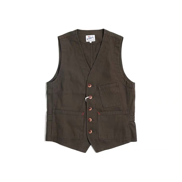 Vintage and republic French work waistcoat