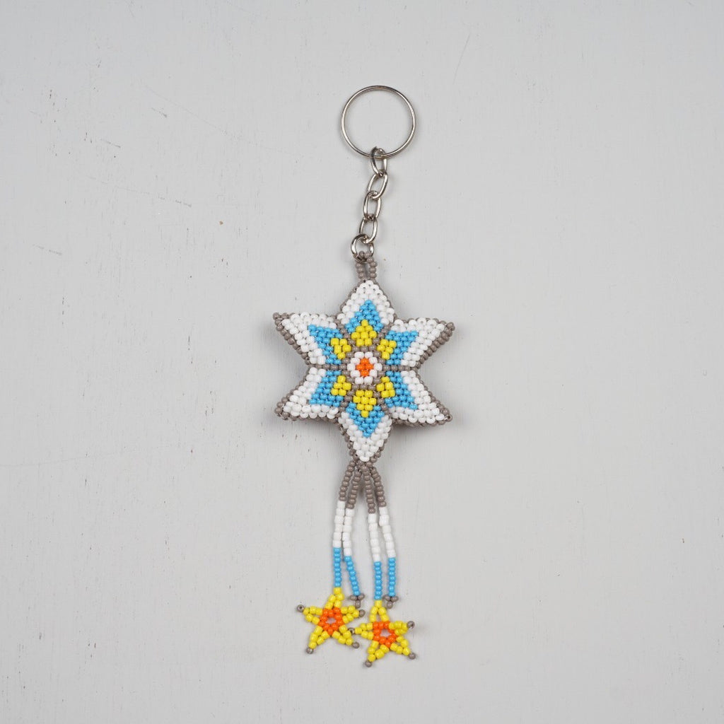 Mexican Style Star Keychain
