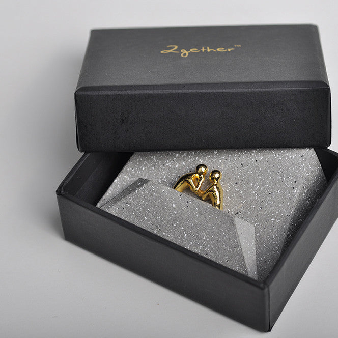 2gether Ring 24K Gold