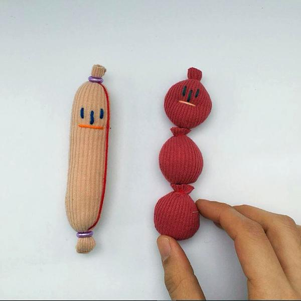 Hand-Made Vegetable Magnet/PIN/Brooch