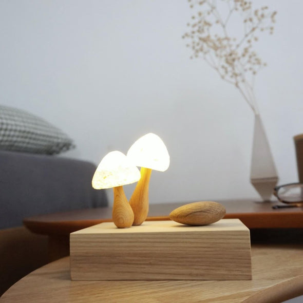 Two Mushroom Night Lamp