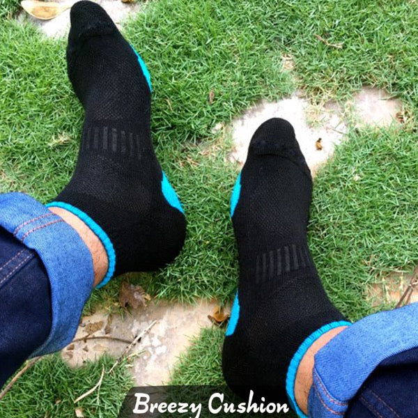 Breezy Lite Cotton Socks (T65)