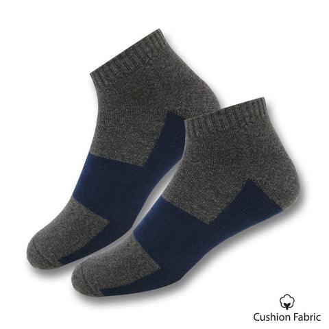 Grey Cushion Socks (V32)