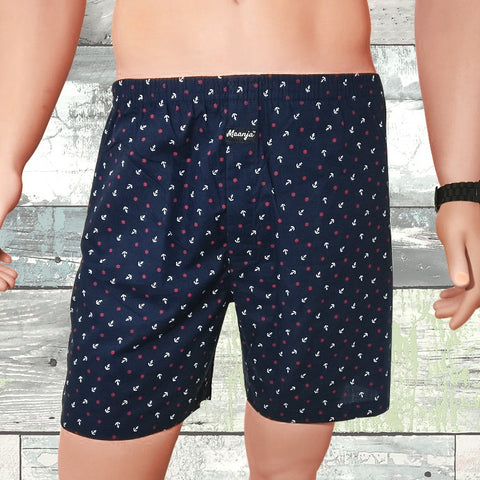 Relaxed Fit Boxer Shorts (B1-S)