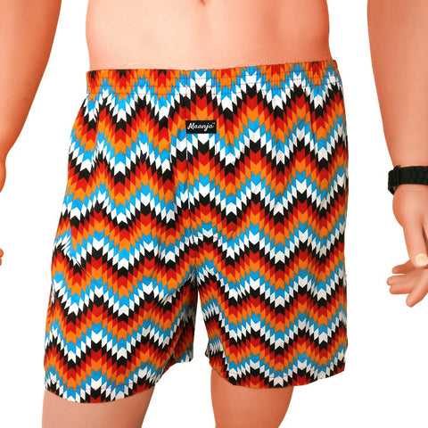 Relaxed Fit Boxer Shorts (B3-XL)