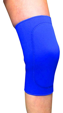 Active Orthotics Blue Pull on knee support Closed Patella Knee Support Brace, Arthritis, Ligament Cartilage injuries