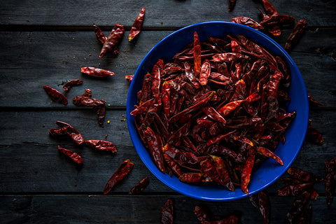 Arbol dried chile
