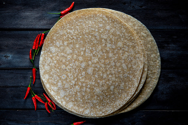 Flour tortilla whole wheat