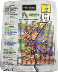 * EVENT* Microfiber Map - Quilted Grade