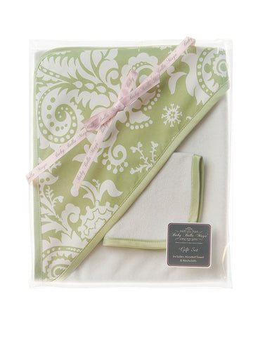 Hooded Towel & Washcloth Gift Set