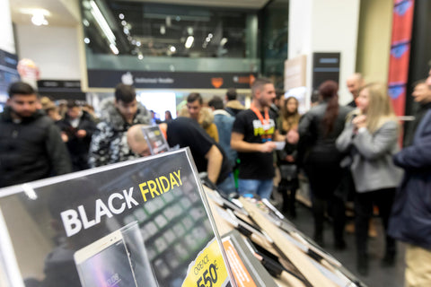 Comércio durante a Black Friday