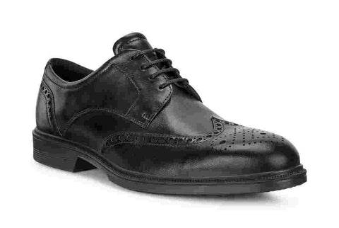 Ecco 622164 01001 Black Lisbon Brogue