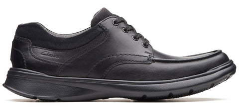 Clarks Cotrell Edge black smooth