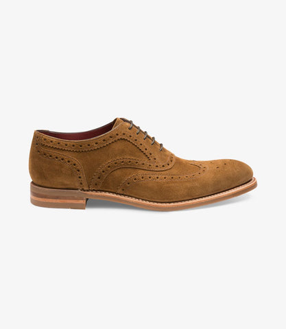 Loake Kerridge tan suede