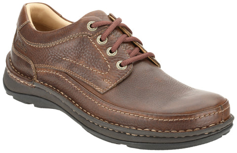 Clarks Nature Three Mahogany