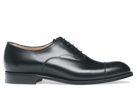 Alfred Black Calf Rubber Sole