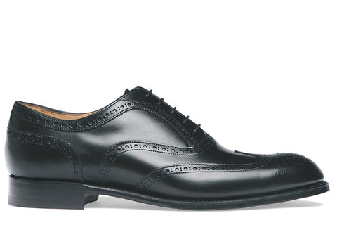 Arthur III Black Calf Leather Sole