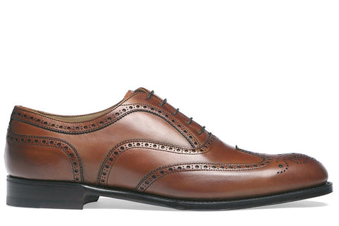 Arthur III Dark Leaf Leather Sole