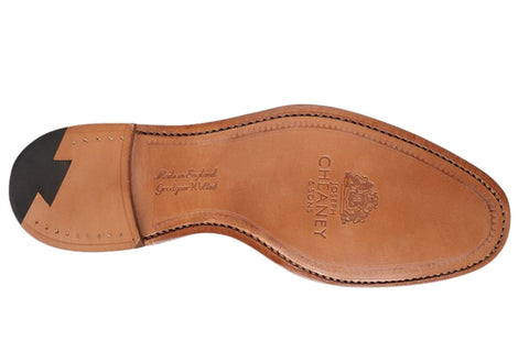 Alfred Black Calf Leather Sole
