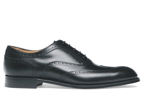 Arthur III Black Rubber Sole