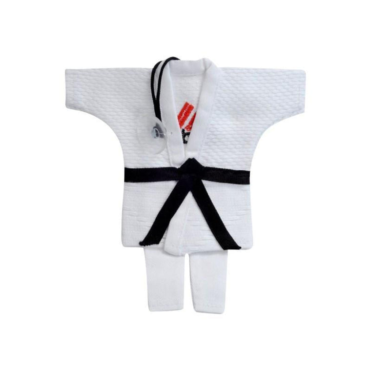 Adorno Mini Karategi Adidas blanco