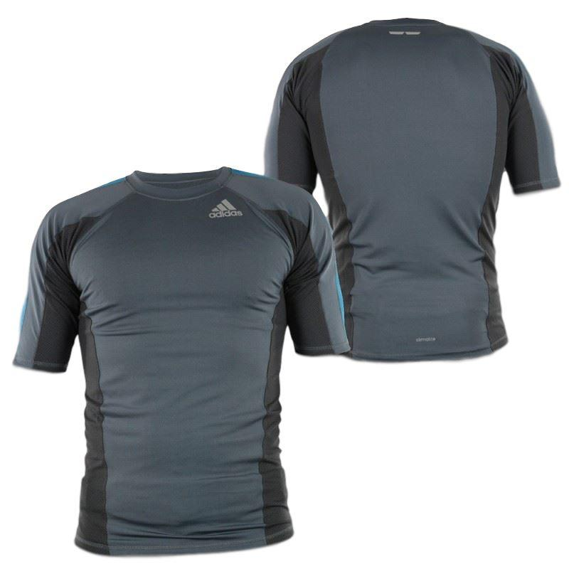 Camiseta Técnica RASH GUARD Adidas Grappping Gris