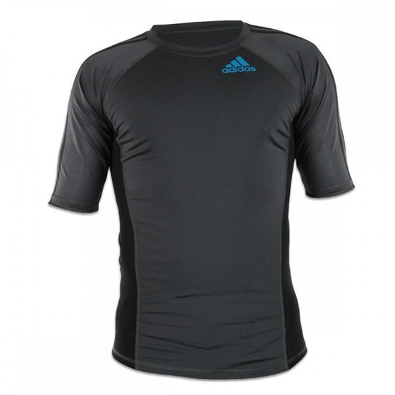 Camiseta Técnica RASH GUARD Adidas Grappping Negra