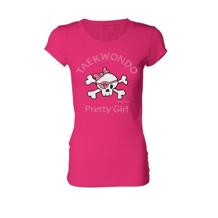 Camiseta Taekwondo Princess Pirata