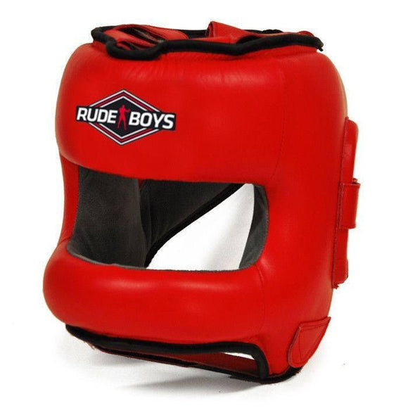 Cascos - Casco De Boxeo Con Barra FULL FACE