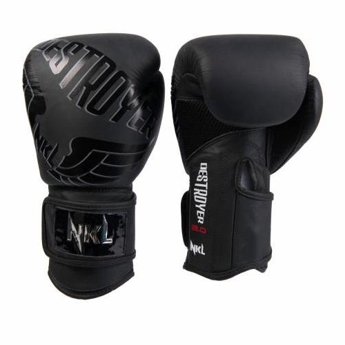 Guantes Boxeo DESTROYER 2.0  Negro Mate