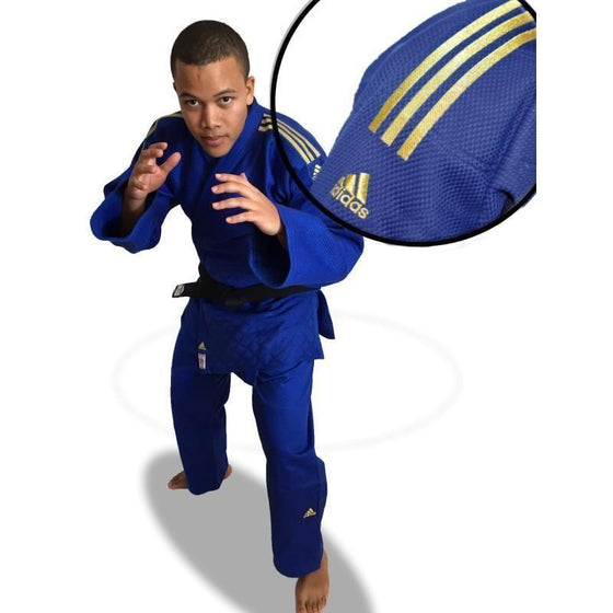 "Judogui ADIDAS CLUB NEW CHAMPION II SLIM FIT ""IJF 2018"""