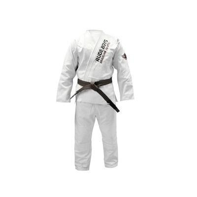 Judogi Jiu Jitsu Gi Rude Boys Light Blanco