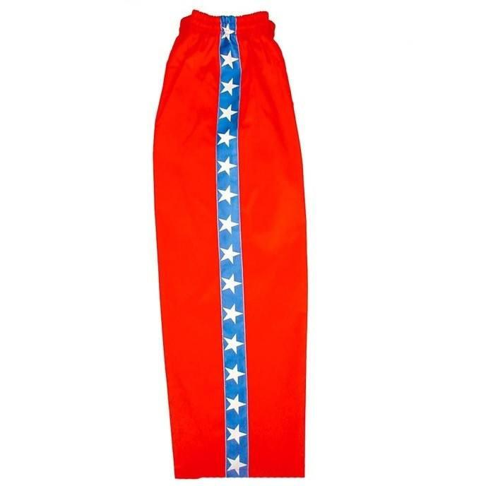 Pantalón Kick Boxing/Full Contact Start Red/Blue