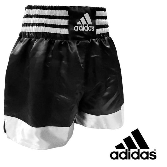 SHORT ADIDAS THAI-BOXING Negro y Blanco
