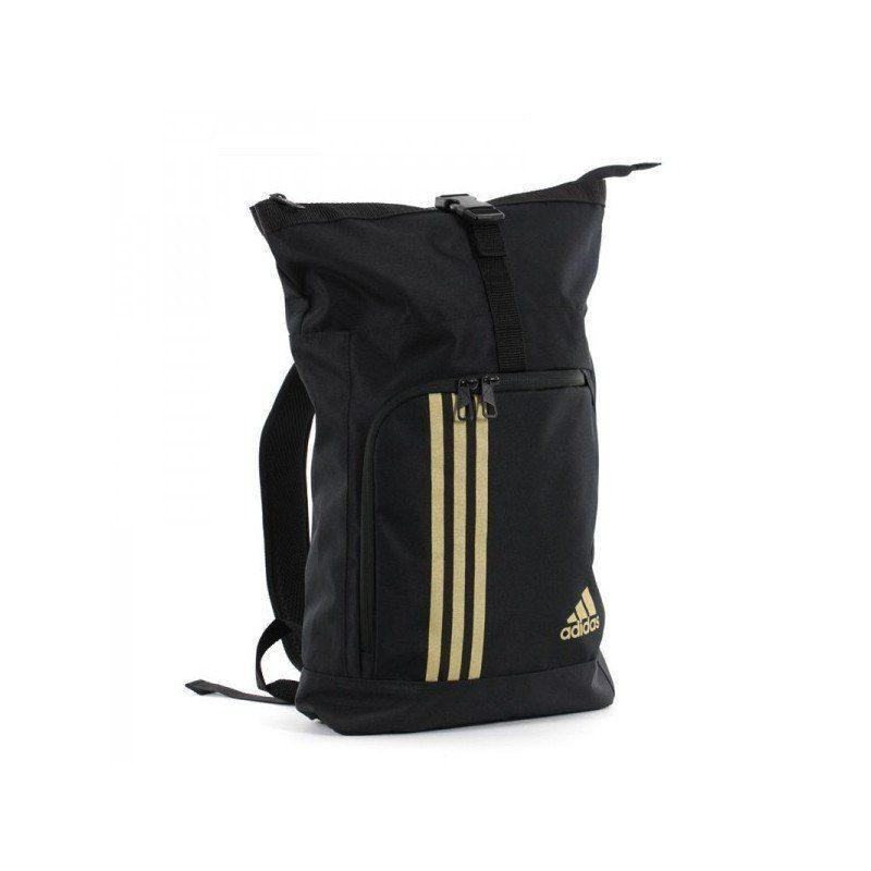 Bolsa/Saco ADIDAS TRAINING MILITARY negro/oro